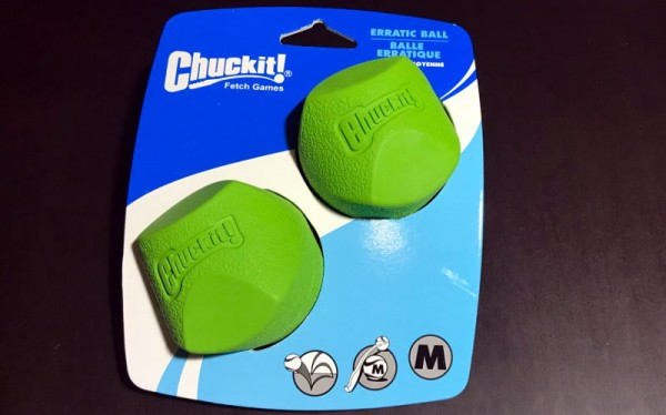 Chuckit Erratic Ball Gr M 2er Pack